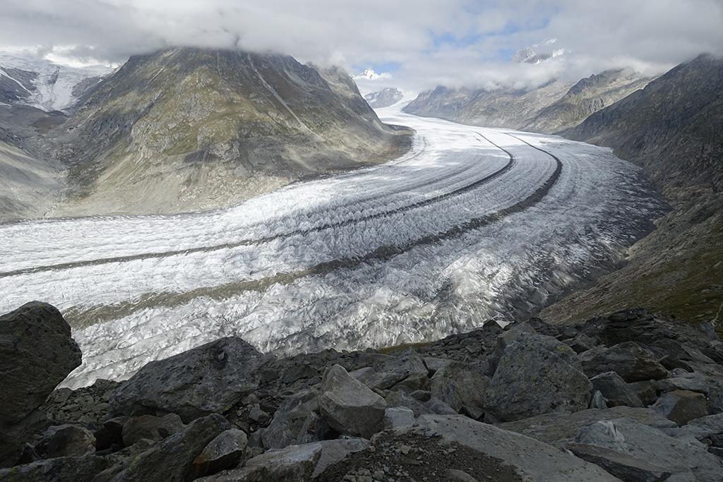 Wanderung Aletschgletscher © Valerie Chetelat