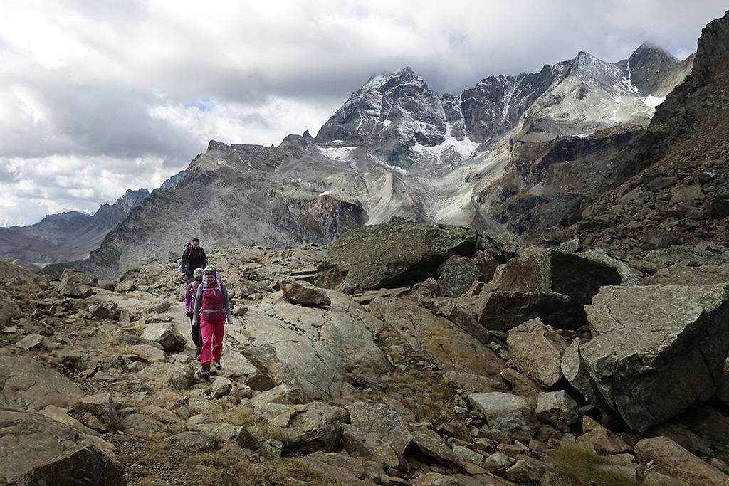 Wanderung Binn - Alpe Devero, Mammut Alpine School © Valerie Chetelat