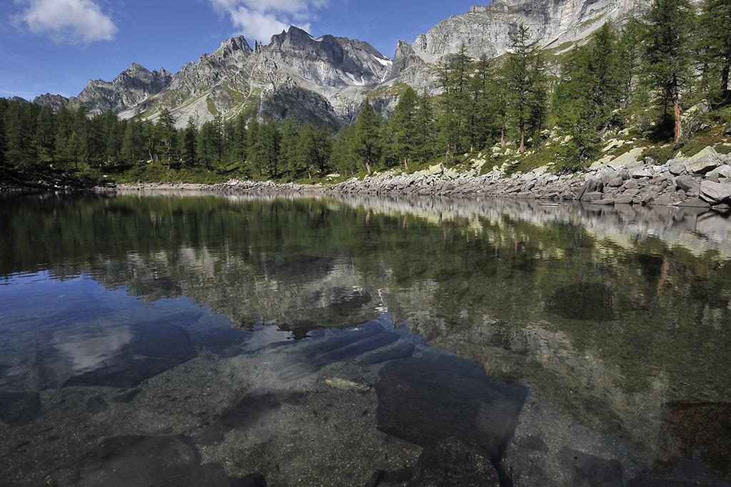 Wanderung Piemont 2014, 24. - 30. August, Lago Nero © Alison Pouliot