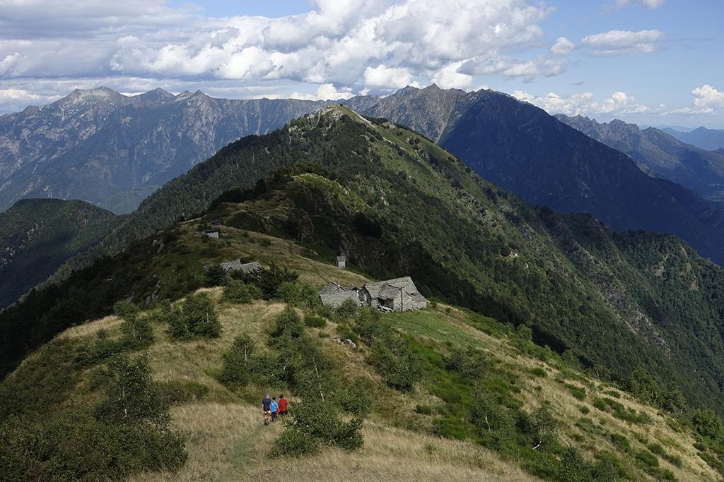 Weitwanderung zwischen Lago Maggiore und Monte Rosa, Wanderwoche im Piemont, Zwischbergen, Bognanco, Antrona, Anzasca © Valerie Chetelat