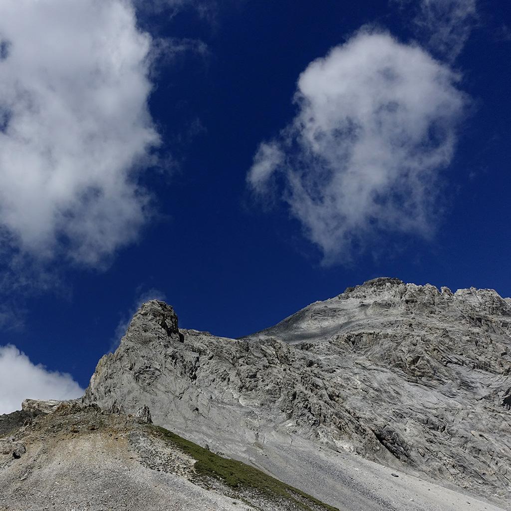 Alperschaelliluecke, Reko Rund um den Piz Beverin, Graubuenden © Valerie Chetelat