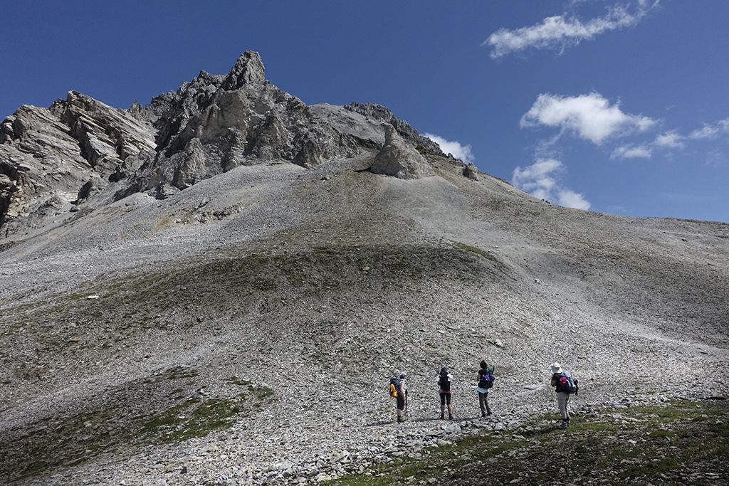 Streifzug um den Piz Beverin, Wanderung Mammut Alpine School 28. Juli - 1. August 2017 © Valerie Chetelat