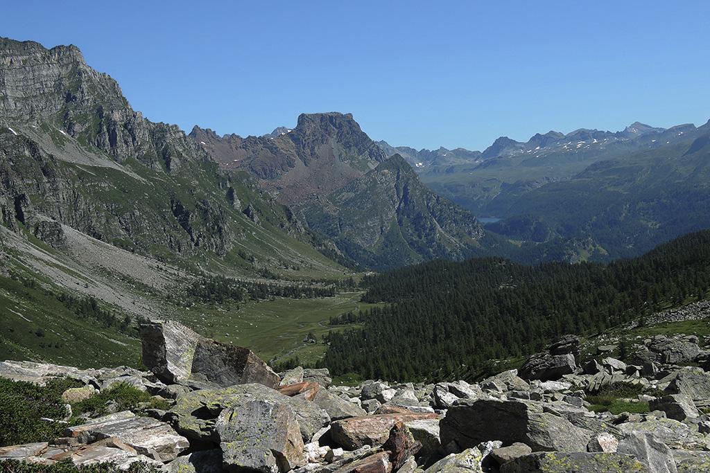 Wanderung Piemont, Tag 4,  Alpe Devero - Alpe Veglia, Alpe Buscagna © Valerie Chetelat