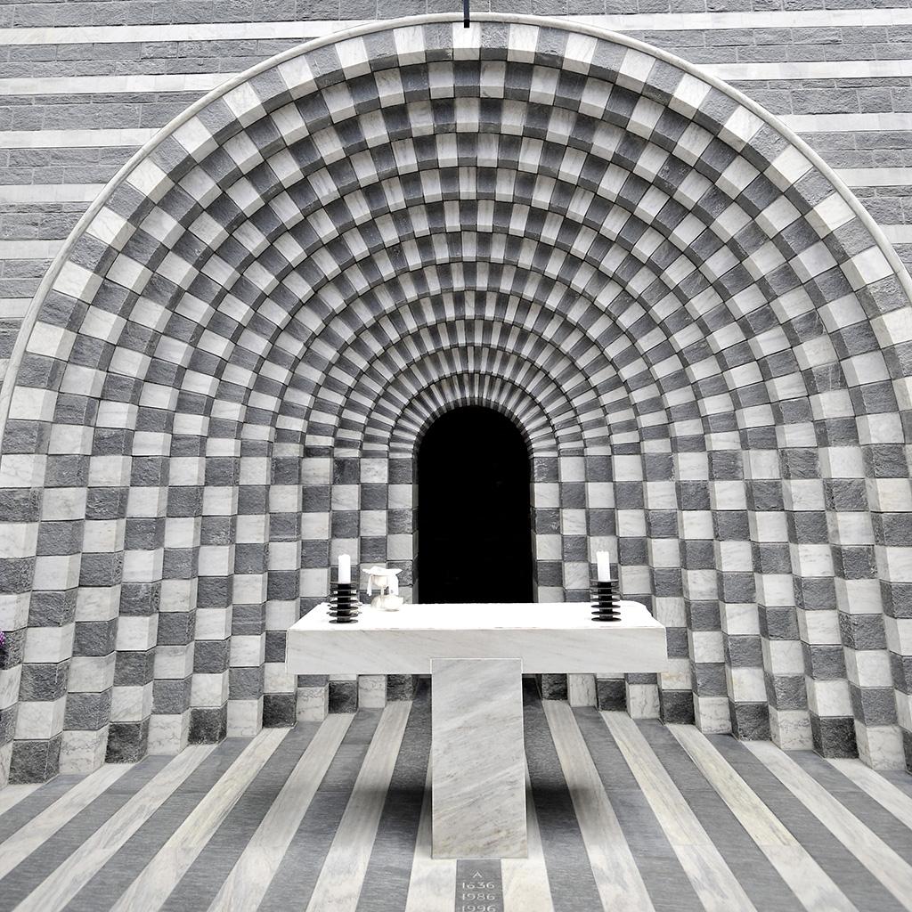 Mario Botta Kirche in Mogno © Valerie Chetelat
