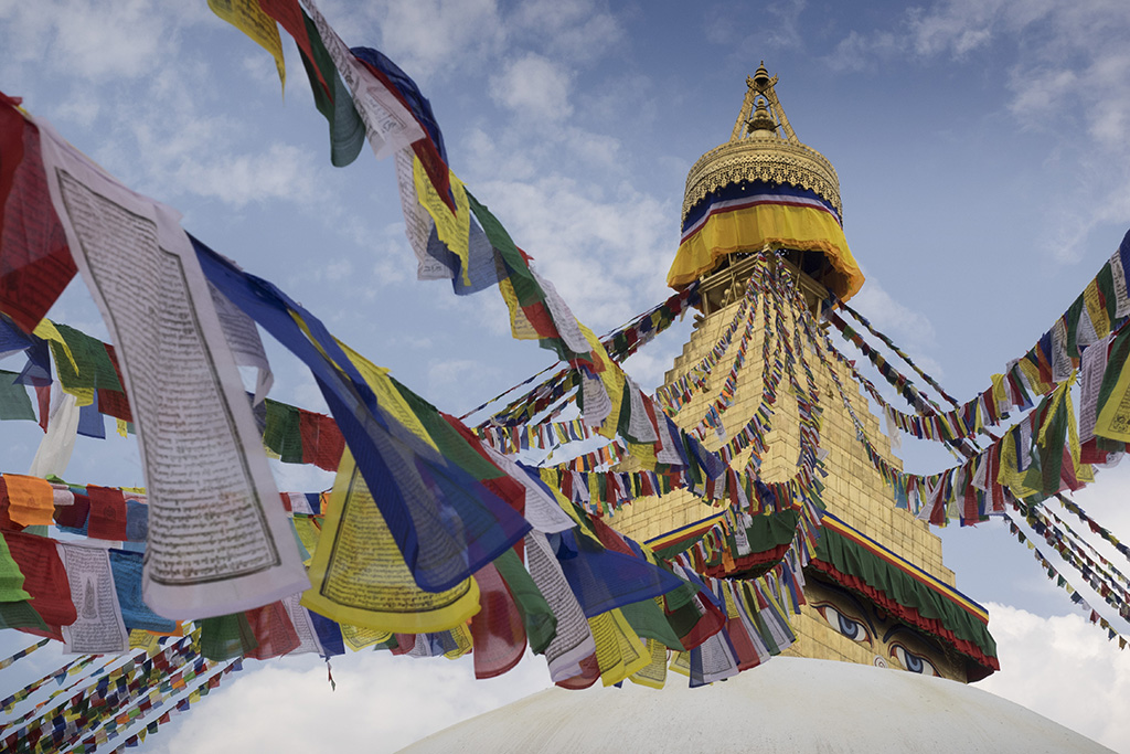 Bodnath Stupa, Everest Komfort Trekking, 27. April - 13. Mai 2017 © Valerie Chetelat