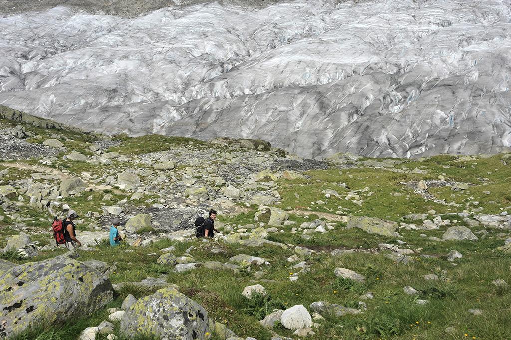 Wanderung Aletschgletscher 04.08.2013 © Valerie Chetelat