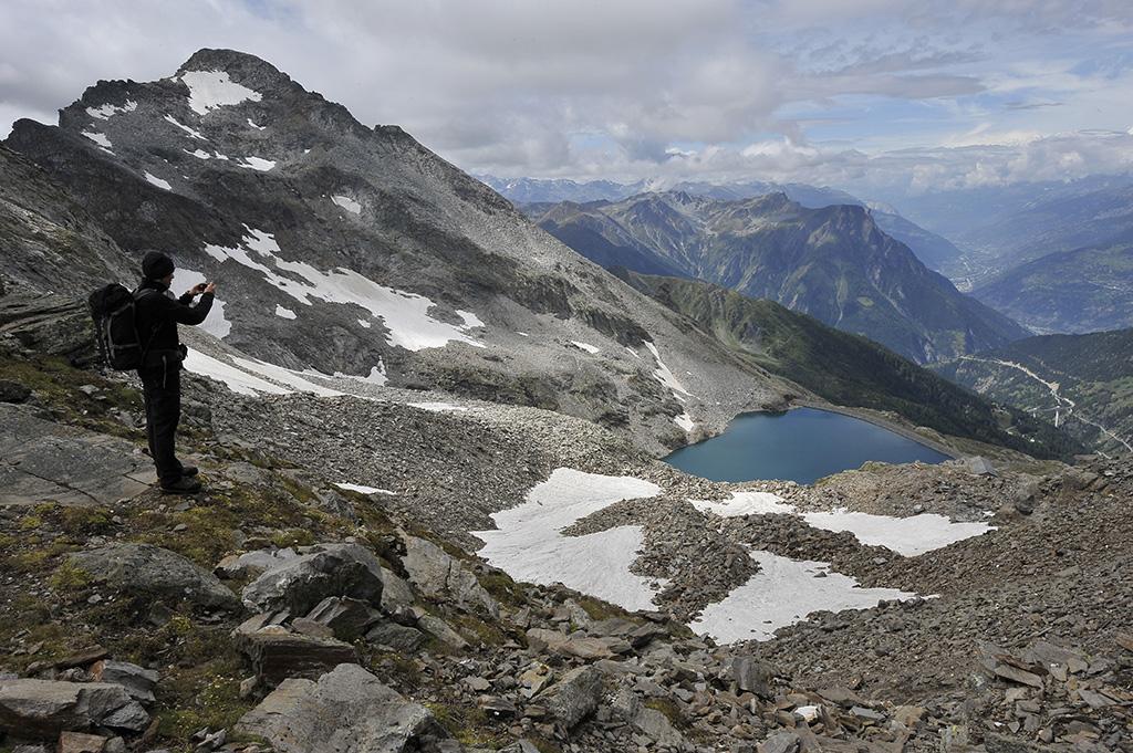 Wanderung Piemont 2014, 24. - 30. August, Bortelsee © Alison Pouliot