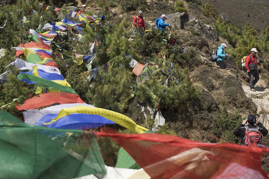 Rundwanderung Namche - Everest View Hotel - Khumjung - Nachme. Everest Komfort Trekking, 27. April - 13. Mai 2017 © Valerie Chetelat