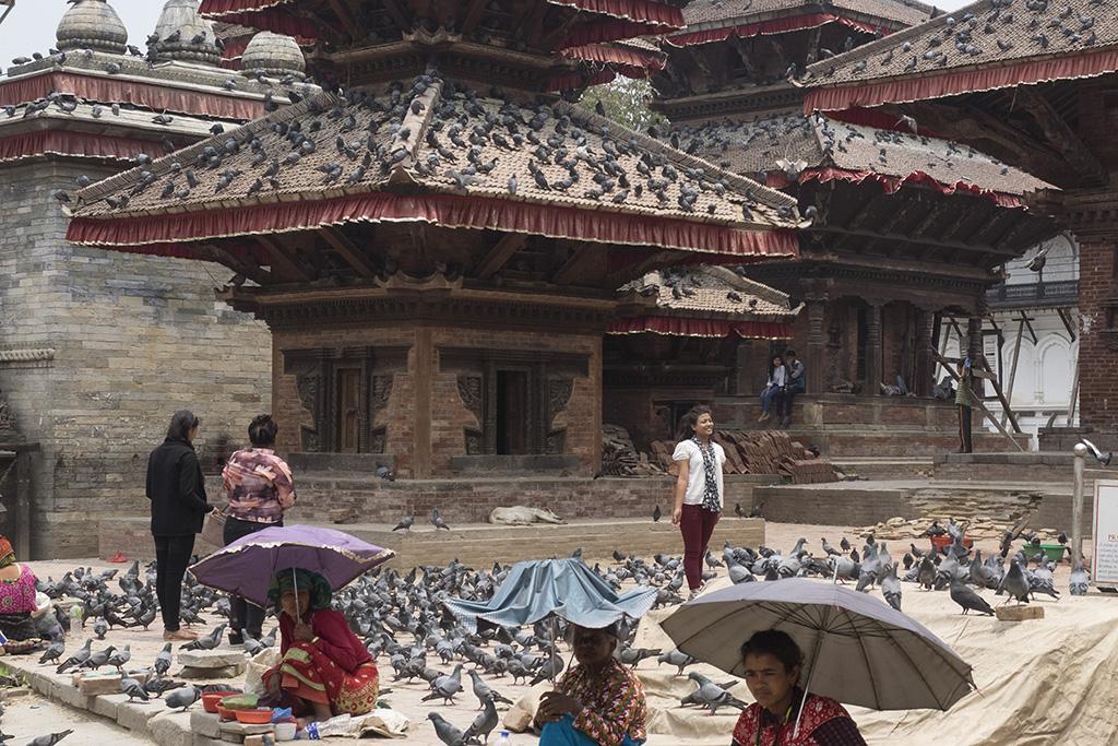 Durbar Square, Kathmandu, Everest Komfort Trekking, 27. April - 13. Mai 2017 © Valerie Chetelat