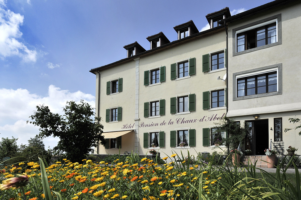 Hotel, La Chaux d'Abel, Jura © Valerie Chetelat