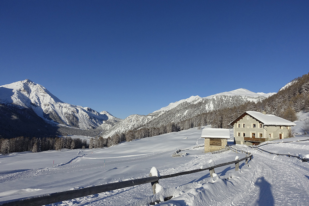 Schneeschuhtour Val Muestair, Lü © Valerie Chetelat