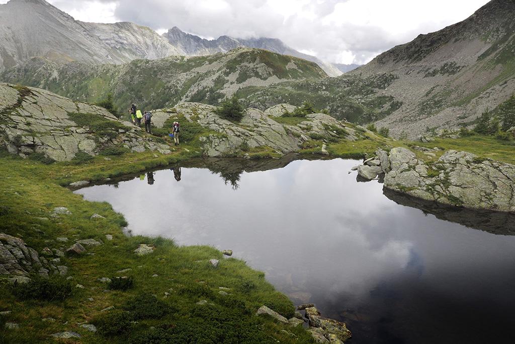 Weitwanderung zwischen Lago Maggiore und Monte Rosa, Wanderwoche im Piemont, Zwischbergen, Bognanco, Antrona, Anzasca © Alison Pouliot