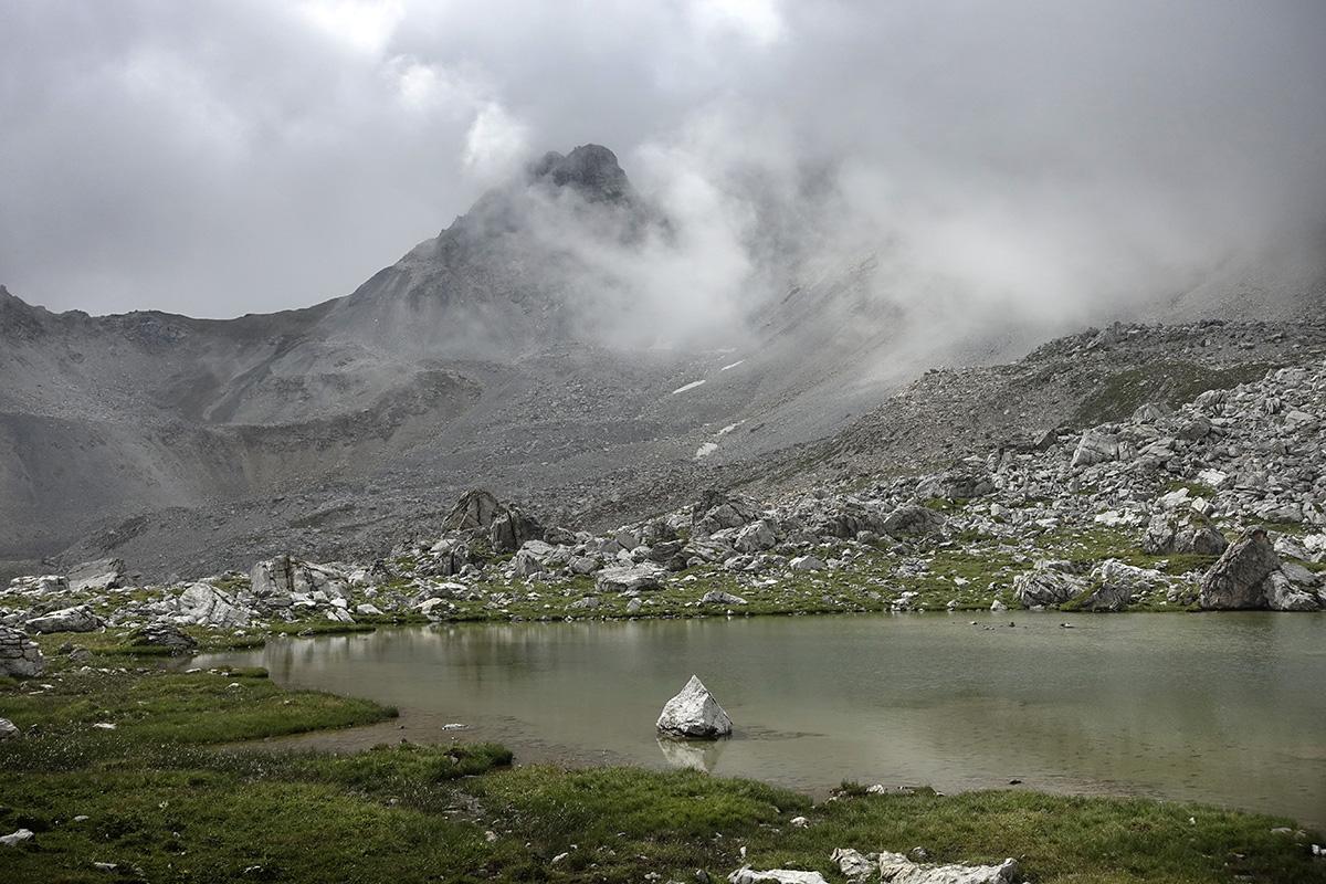 Rund um den Piz Beverin, Mammut Alpine School, 10.-12. August 2018 © Valérie Chételat