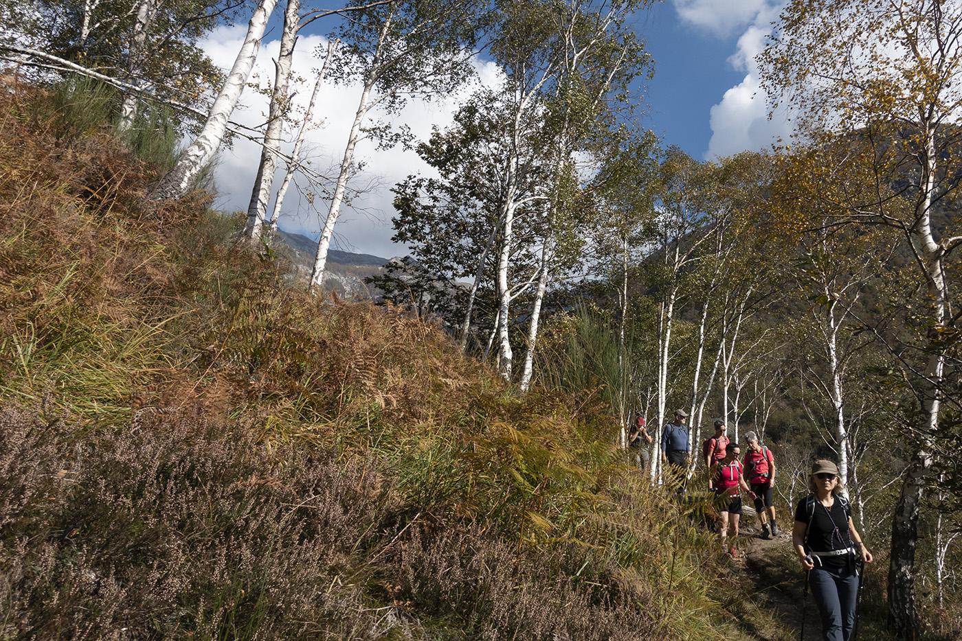 Herbstwanderungen im Maggiatal, 15.-18. Oktober 2020  © Valerie Chetelat