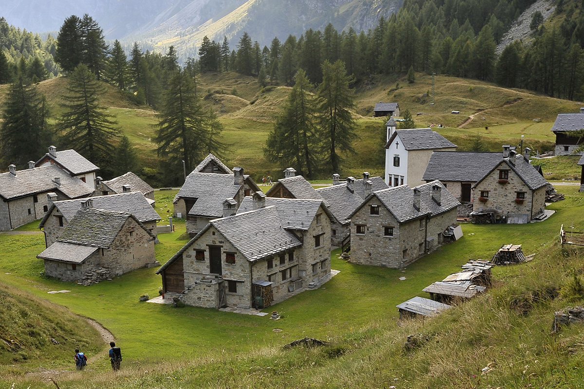 Wanderung Piemont 2014, 24. - 30. August, Crampiolo © Alison Pouliot